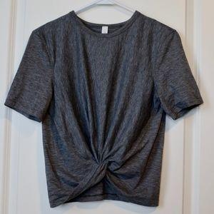 Lululemon Cropped Twist Shirt